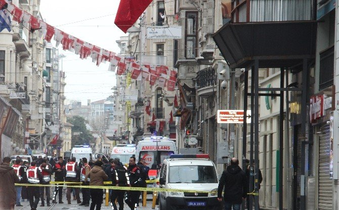 İstiklal Caddesi'nde Patlama: 2 Ölü