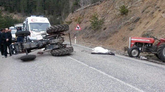 Tosya'da Traktör Kazası: 1 Ölü, 1 Yaralı