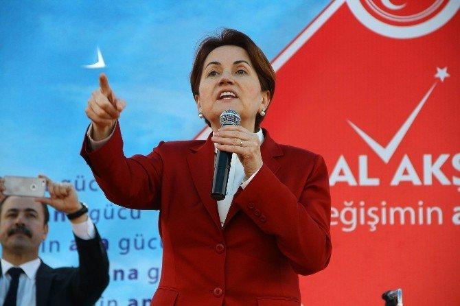 """Akşener: """"PKK'nın Belini 6 Ayda Kıracağız"""""""