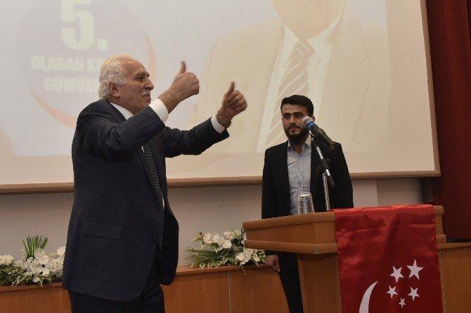 SP Genel Başkanı Kamalak Gümüşhane'de