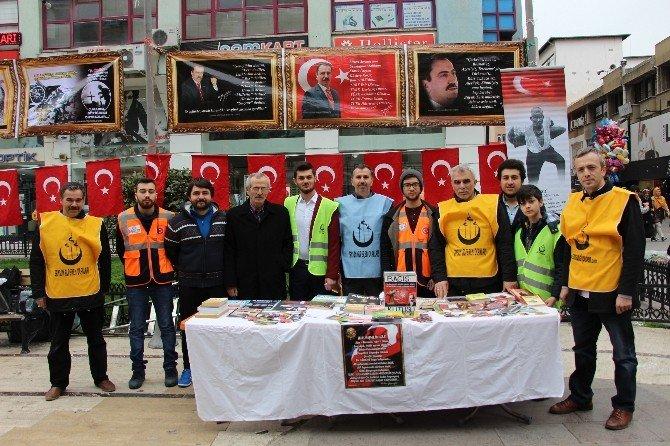 Alperenler, Çanakkale Şehitleri Ve Yazıcıoğlu'nu Andı