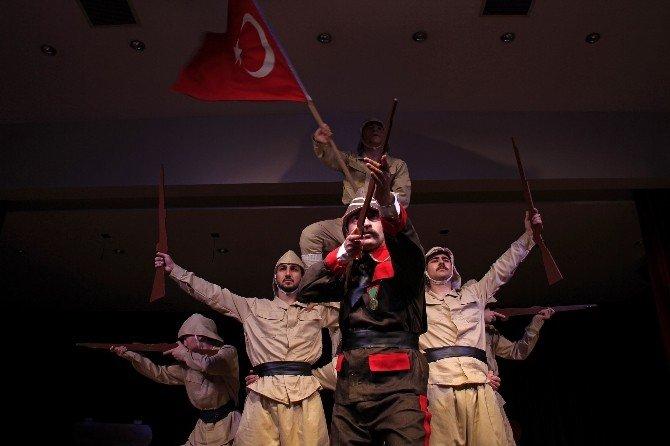Buca'da Çanakkale Zaferi'ne Özel Gösteri
