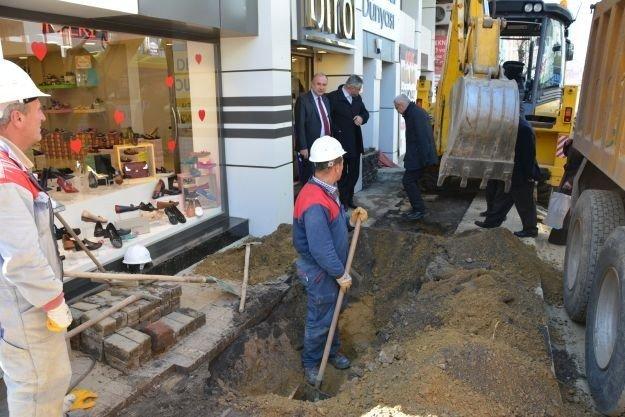 Genel Müdür Başa Teski'nin Süleymanpaşa'da Yaptığı Çalışmaları İnceledi