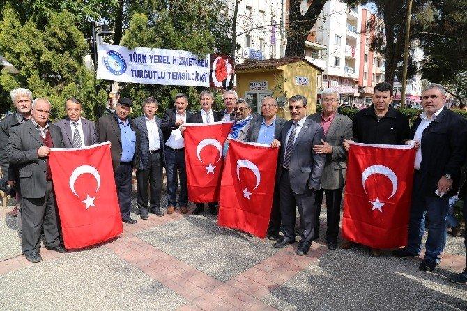 Turgutlu'nun Her Yerinden Dualar Yükseldi