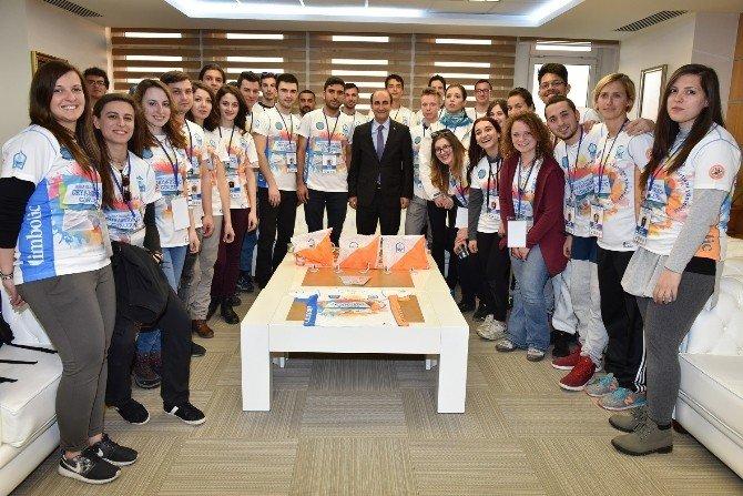 Bursa'da Oryantiring Heyecanı