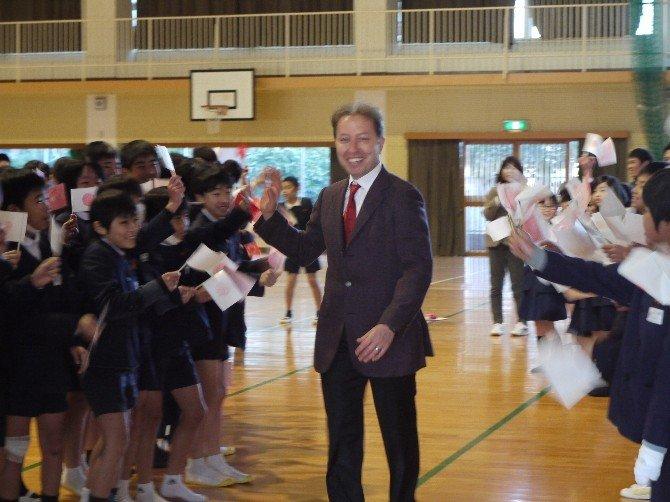 Japon Öğrencilere Japonya-türkiye İlişkilerinin Tarihini Anlattı