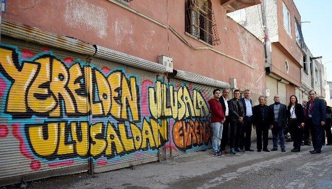 Adana'da Sokaklar Sanatla Buluştu