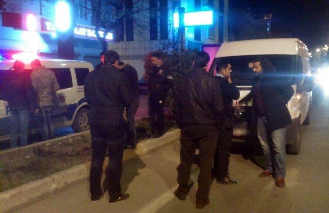 Şüpheli Minibüs Polisi Harekete Geçirdi