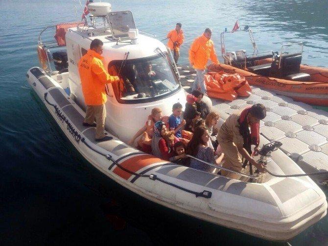 Antalya'da Tekne Faciası Son Anda Önlendi