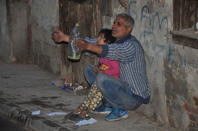 Kucağındaki Yeğeniyle Birlikte Kendini Yakmak İstedi