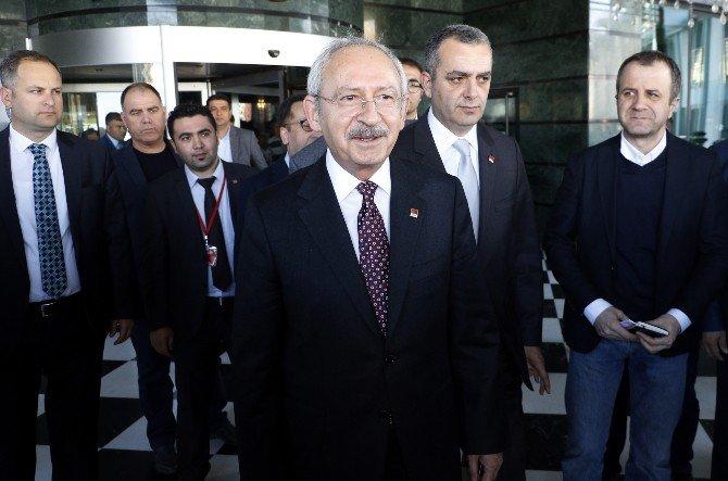 Kılıçdaroğlu'ndan Şehit Evine Taziye Ziyareti