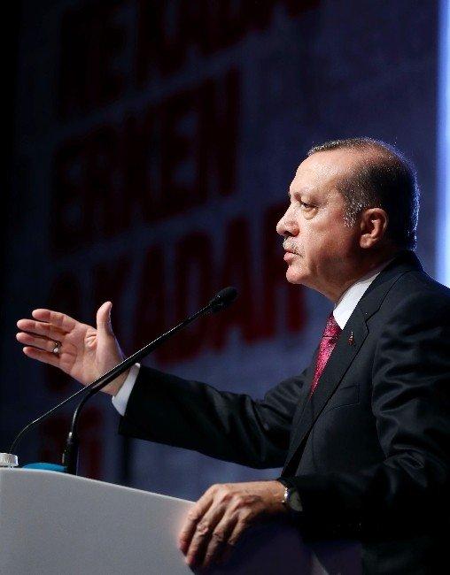 """Cumhurbaşkanı Erdoğan: """"Terörün Gündemine Asla Teslim Olmayacağız"""""""