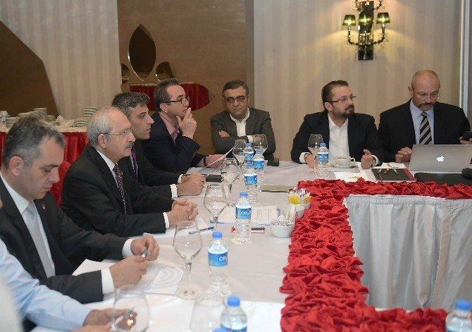 Kılıçdaroğlu 'Orta Doğu Ve Suriye' Konulu Programa Katıldı