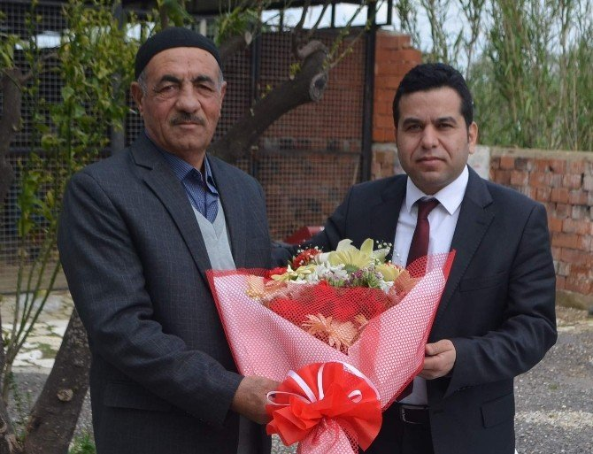 Germencik Belediyesi'nden Şehit Ailelerine Anlamlı Ziyaret