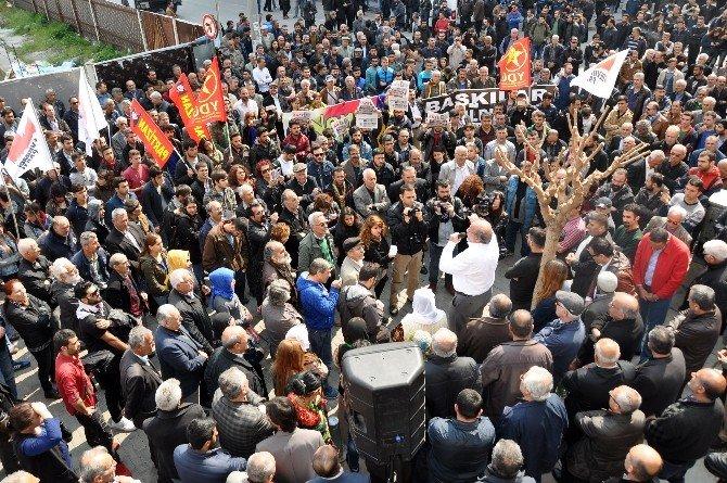 Kürkçü, İzmir'deki Nevruz'da Konuştu