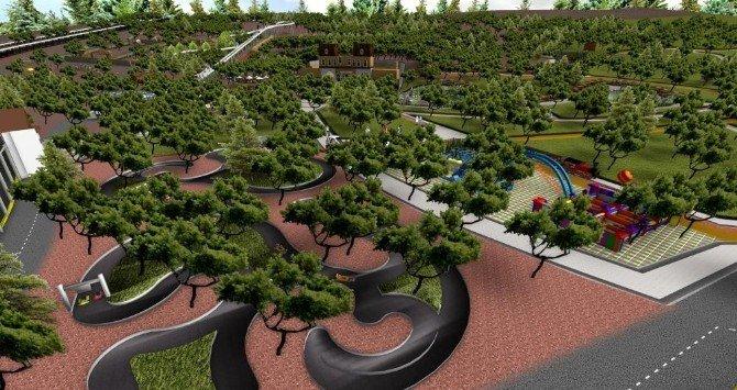 Kepez Park Orman Projesi Gün Sayıyor