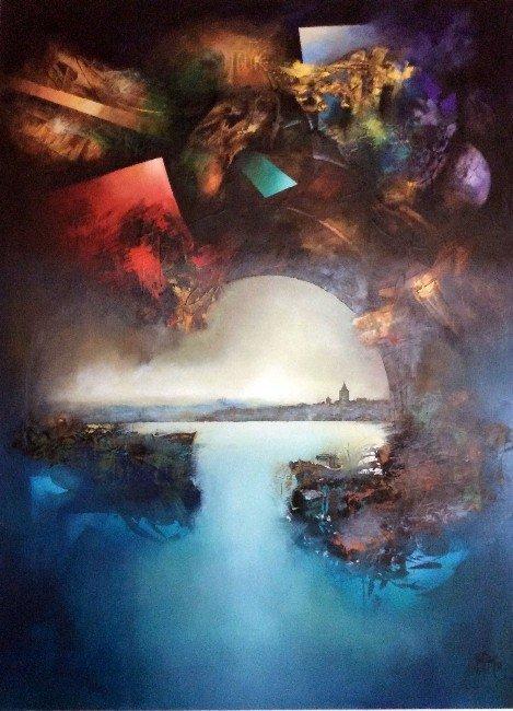 Sanko Sanat Galerisi Ressam Günel'i Ağırlıyor