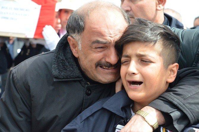 Şehit Polis Damatlığı İle Uğurlandı