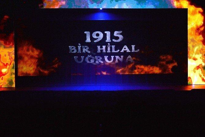 """""""1915 Bir Hilal Uğruna"""" Gösterimini 3 Bin Kişi İzledi"""
