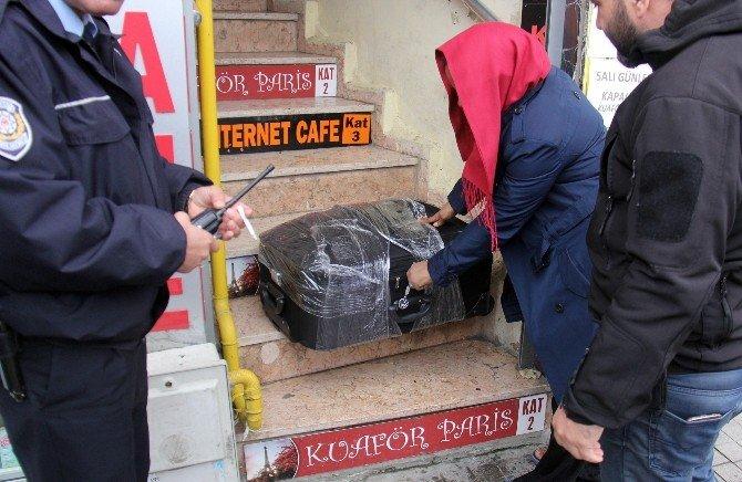 Rize'de Şüpheli Valiz Alarmı