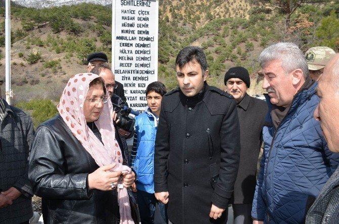 Sivas'ta 11 Yıl Önce Heyelanda Ölen 15 Vatandaş Anıldı