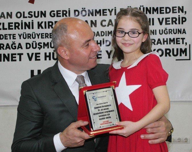 Tekkeköy Belediyesi Şehitleri Unutmadı