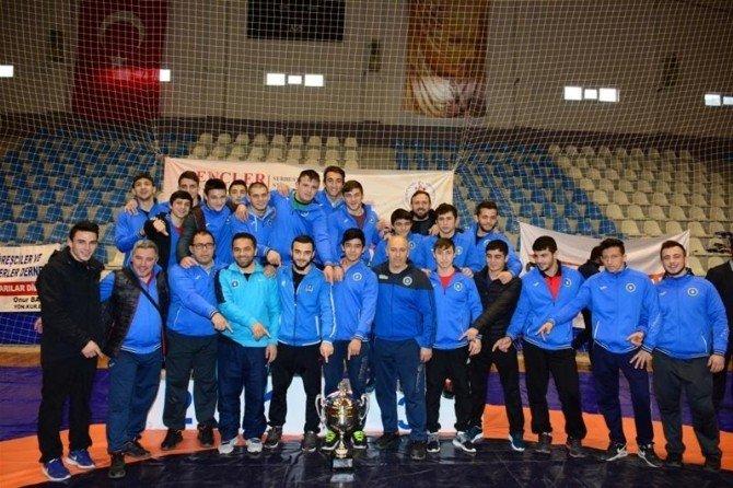 Tokat'ta, Türkiye Güreş Şampiyonası Sona Erdi