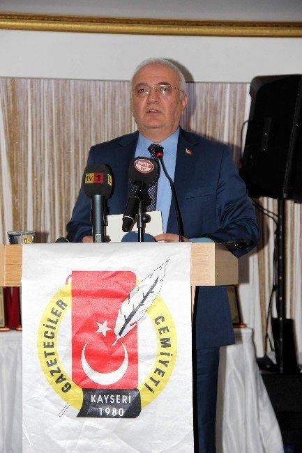 Kayseri Gazeteciler Cemiyeti Medya Yarışmasında Ödüller Sahiplerini Buldu