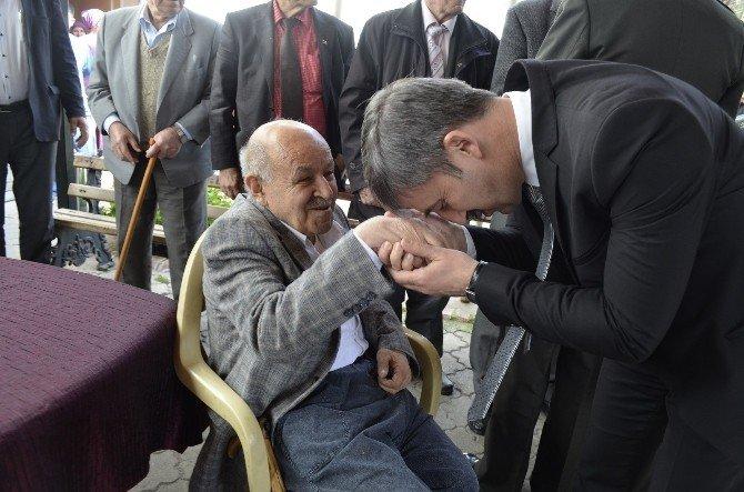 Başkan Şirin Yaşlılara Saygı Haftasını Kutladı
