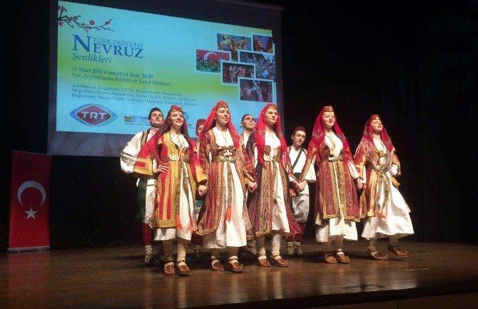 Türksoy, Nevruz Coşkusunu Dev Etkinlikle Kutluyor