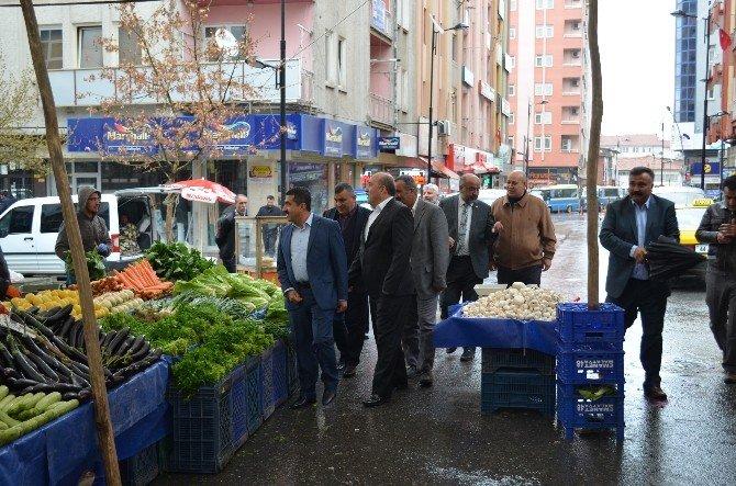 Sebzeciler Meyveciler Seyyar Pazarcılar Federasyonu Genel Başkanı Karaca, Malatya Esnafıyla Bir Araya Geldi