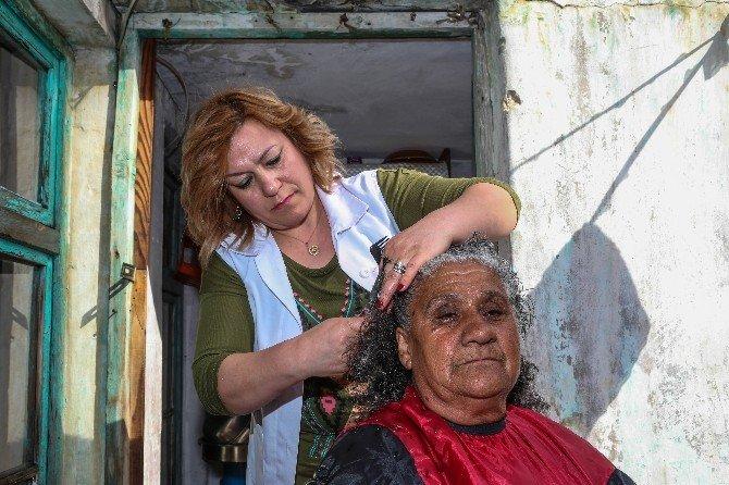 'Vefa Hizmeti' Şehitkamilli Yaşlıların Yüzünü Güldürüyor