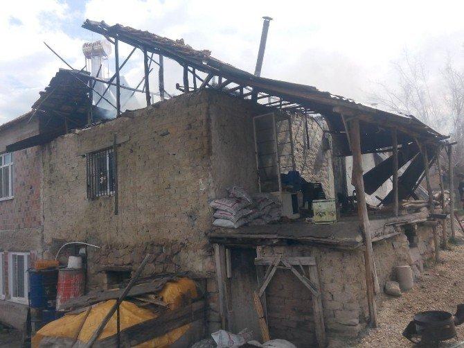 Malatya'da Yangın Paniği