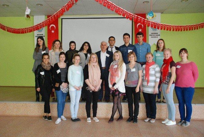 Estonyalı Eğitimciler Adıyaman'da Okul Öncesi Eğitimi İnceliyor