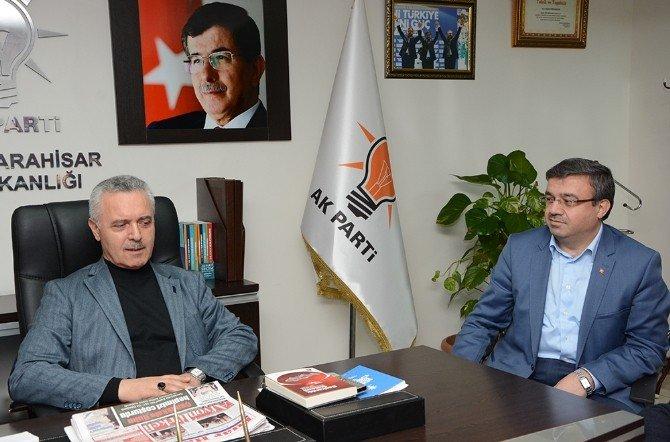 AK Parti Genel Başkan Yardımcısı Ataş, Afyonkarahisar İl Başkanlığını Ziyaret Etti