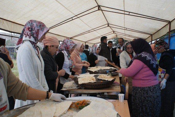SDÜ Hastanesi Çalışanlarından Bayırbucak Türkmenleri'ne Yardım