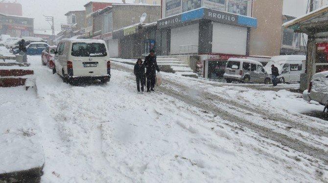 Başkale'de 34 Mahalle Yolu Ulaşıma Kapandı