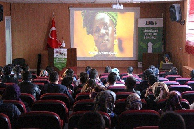Çevre Kulübü Ve Genç TEMA'dan Belgesel Film Gösterimi