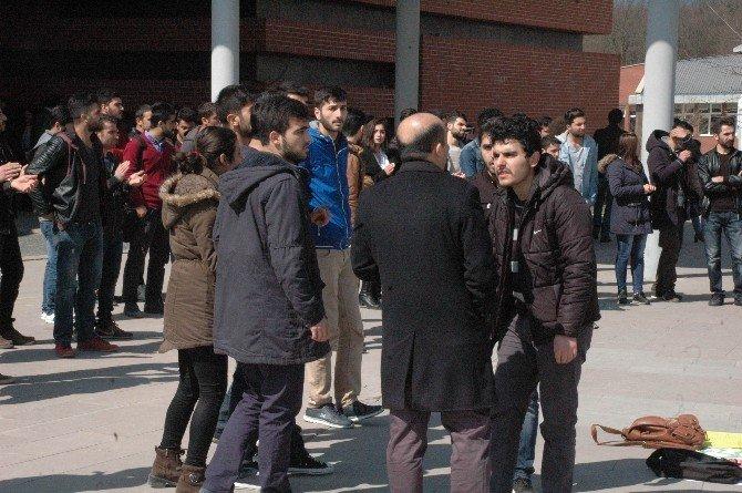 Üniversitede Nevruz Gerginliği