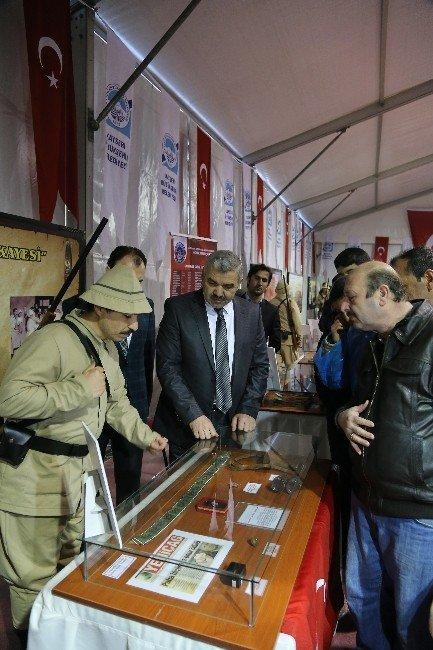Başkan Çelik Çanakkale Çadırı'nda