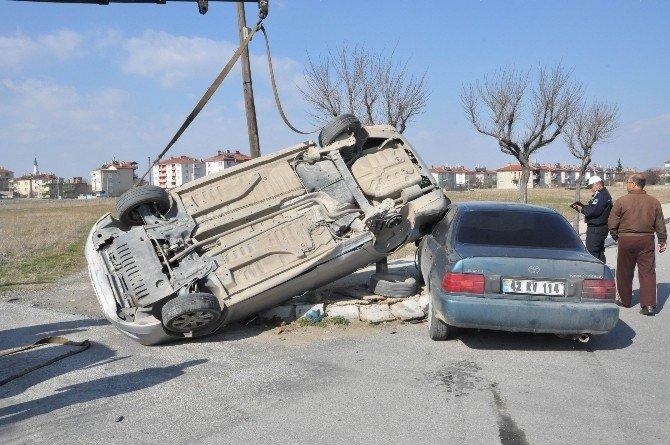 Akşehir'de Trafik Kazası: 1 Yaralı