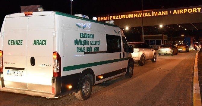 Büyükşehir, Hava Yoluyla Cenaze Nakillerine Başladı