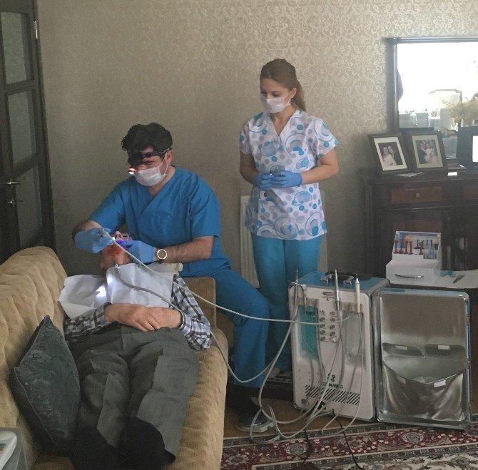 Yaşlı Ve Engellilere Evde Diş Tedavisi