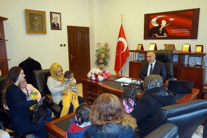 Down Sendromlu Çocuklar Ve Aileleri Nevşehir Belediyesi'nde