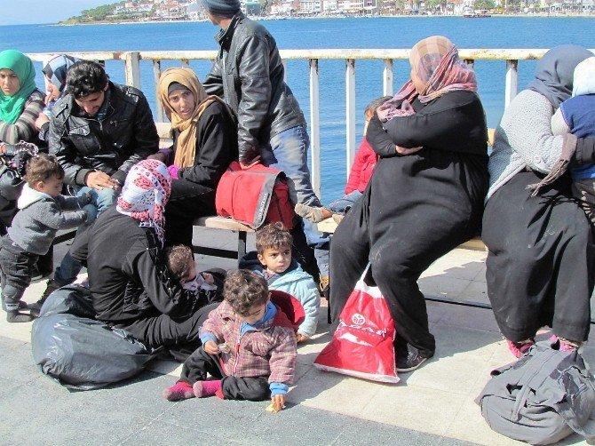 Türkiye-ab Arasındaki Anlaşma Sonrası Ege'den Geçişler Hızlandı