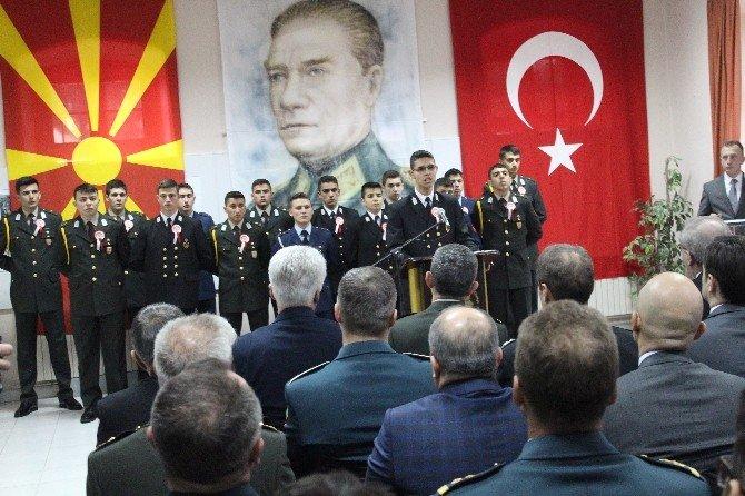 Atatürk'ün Manastır Askeri İdadisi'nden Mezuniyetinin 117. Yıl Dönümü Nedeniyle Anma Töreni