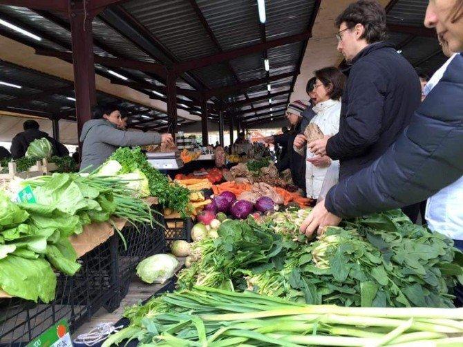 Sağlıklı Yaşam Tutkunları Ekolojik Pazarda Buluşuyor
