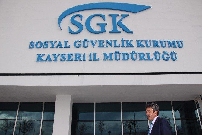 SGK İl Müdürü Bilal Doğan Yeni Hizmet Binasında İncelemelerde Bulundu