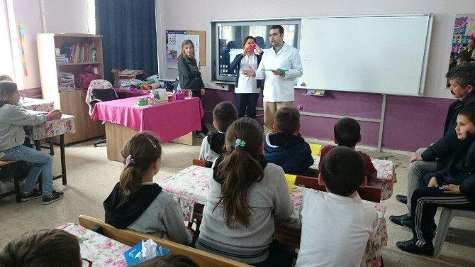Lapseki Devlet Hastanesi'nde Diş Sağlığı Eğitim Çalışmaları