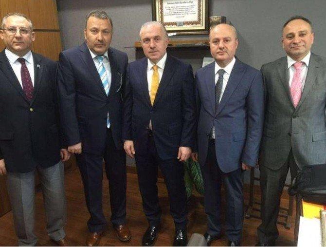 Milletvekillerinden Serbest Muhasebeci Ve Mali Müşavirlere Tam Destek